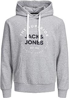 Jack & Jones Jjherro Sweat Hood Sudadera con Capucha para Hombre