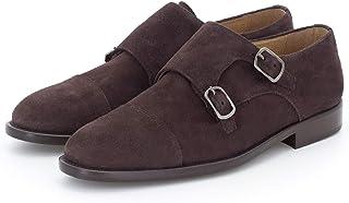 Doble Hebilla en Ante - Zapato para Hombre Gallant