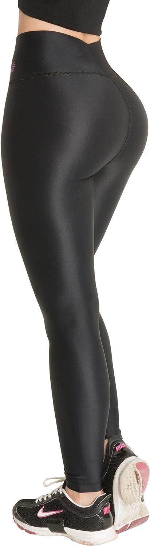 PITBULL  WOMEN/'S LEGGINGS LE950N W//INTERNAL BODY SHAPER-BUTT LIFTER COLOMBIANOS