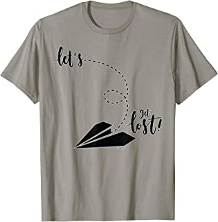 Let's get lost! T-Shirt Novelty tee by No Limits T-Shirts