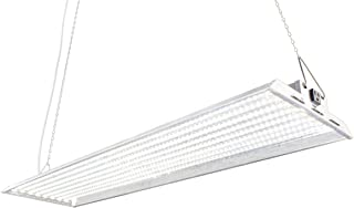 Durolux DLED848W LED Grow Light | 4 Feet by 1 Foot | 320W (0.5 W x 640 Pcs) with White 5500K FullSun Spectrum and 40000 Lux Great for Seeding and Veg Growing! Over 50% Energy Saving!