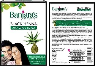Black Henna with Aloe Vera