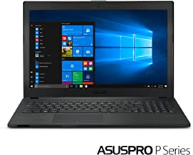 "ASUSPRO P2540UB-XB71 15.6"" 8GB RAM 256 SSD laptop with up to 9 hours of battery life, Intel Core i7-8550U Processor, TPM and Fingerprint security, NVIDIA GeForce MX110, and Windows 10 Professional."