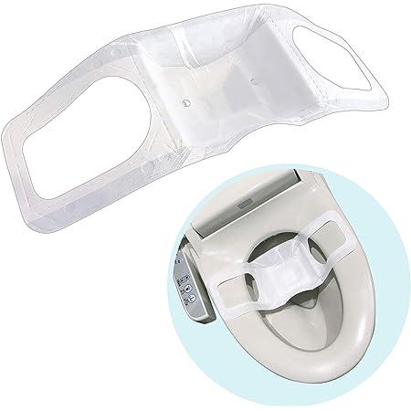 楽流 カップ 検便 採便 用 シート 【立体形状によりトイレ水に浮べず中空で採取 トイレ流せるタイプ】 (5)