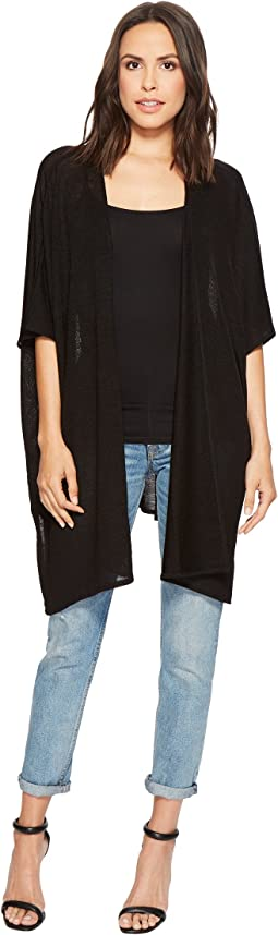 Steve Madden - Solid Fine Knit Topper with Slit