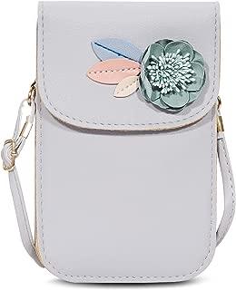 LUXMO Cellphone Bags for Women Crossbody Shoulder PurseWallet Leather Hand Bag