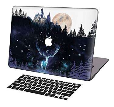 KSK KAISHEK Laptop Case for 2018-2020 Release Newest MacBook Air 13 Inch with Retina Touch Bar Model:A1932/A2179,Plastic Ultra Slim Light Hard Shell Keyboard Cover,Harry Potter Hogwarts