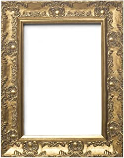 Paintings Frames Wide Ornate Shabby Chic Swept/Muse Picture/Photo/Poster Frame with an MDF Backing Board Hang-with Styrene Shatterproof Perspex Sheet - 24