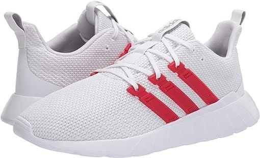 Footwear White/Scarlet/Grey Two