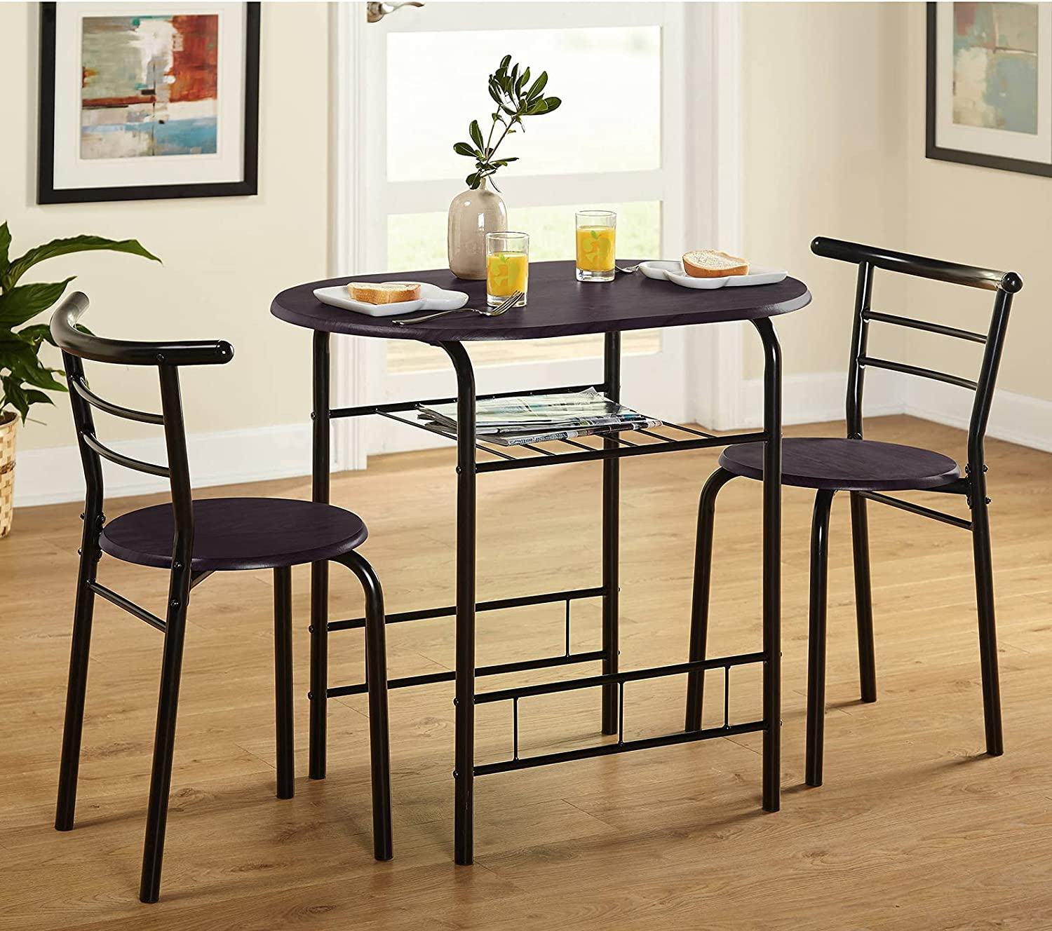 Buy MAISON ARTS 9 Piece Round Dining Room Table Set for 9 Space ...