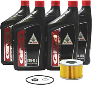 Foreman Rubicon 500 TRX500 FA FGA GPScape OEM Oil Change Kit H37