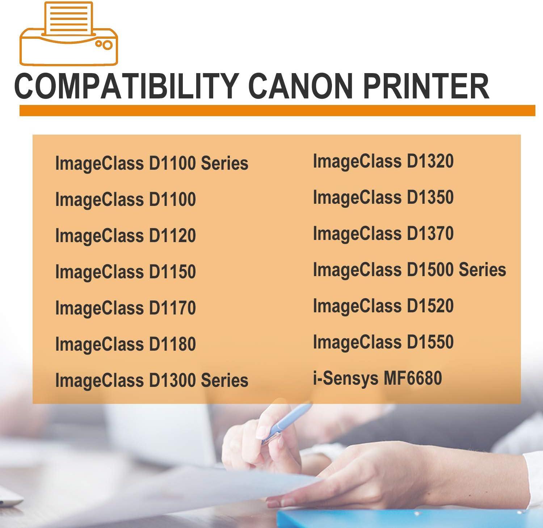 (3Pk,Black) Compatible 120II Toner Cartridge Used for Canon ImageClass D1100 Series D1100 D1300 Series D1320 D1500 Series D1520 D1550 i-Sensys MF6680 Printer Toner Cartridge.