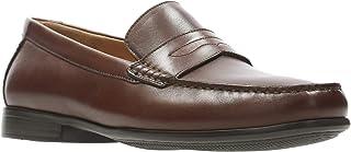 Clarks Claude Lane Casual & Dress Shoe For Men Brown Size 44 EU