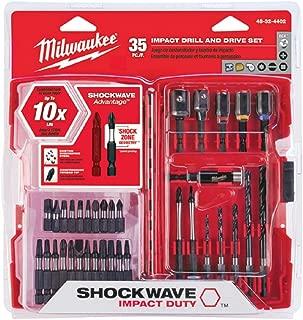 Best milwaukee 35 piece shockwave Reviews