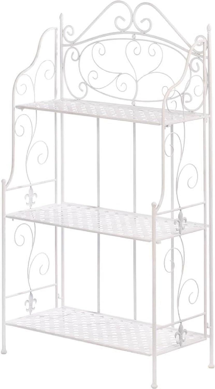 Furniture White NEW before selling ☆ Over item handling ☆ Basket Weave Rack Bakers