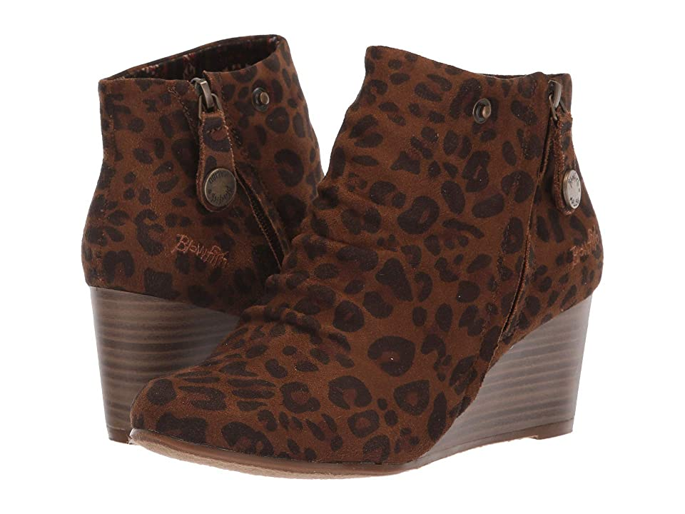 Blowfish Berkeley (Brown Autumn Leopard Micro Deluxe) Women