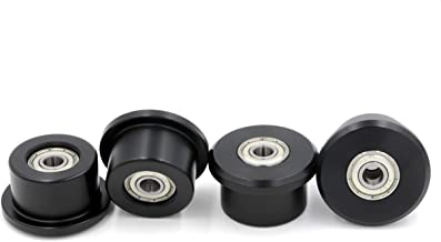 Extremely Strong, 15 Year Breakage Warranty, Made from Solid Engineering Plastic for Total Gym 1000, 1500, 1700, Max, Platinum, Platinum Plus, Pro, Supra and Many Others Set of 4