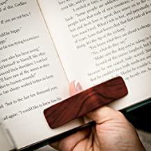 PagePal Page Holder - Handmade Personal Book Assistant - African Sapele (Regular)