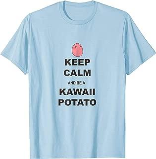 Calm Kawaii Potato T-Shirt Kawaii Anime Clothes