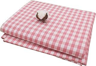 Nappe Rectangle Lavable Polyester Nappe Rectangulaire Anti Tache,Treillis Classique Nappe Impermeable Nappe De Table Pour ...