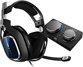 Astro Gaming A40 TR Wired Gaming Headset + MixAmp Pro Gen 4 - PS4 and PC (Black/Blue)