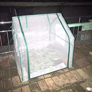 Greenhouse,Tower-type Greenhouses Will Not Accumulate Rain and Snow Waterproof UV Protection Greenhouse PE Plant Vegetable...