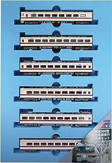 マイクロエース Nゲージ 東武300型 急行尾瀬夜行 6両セット A2096 鉄道模型 電車