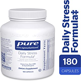 Pure Encapsulations - Daily Stress Formula - Hypoallergenic Stress Defense Formula* - 180 Capsules