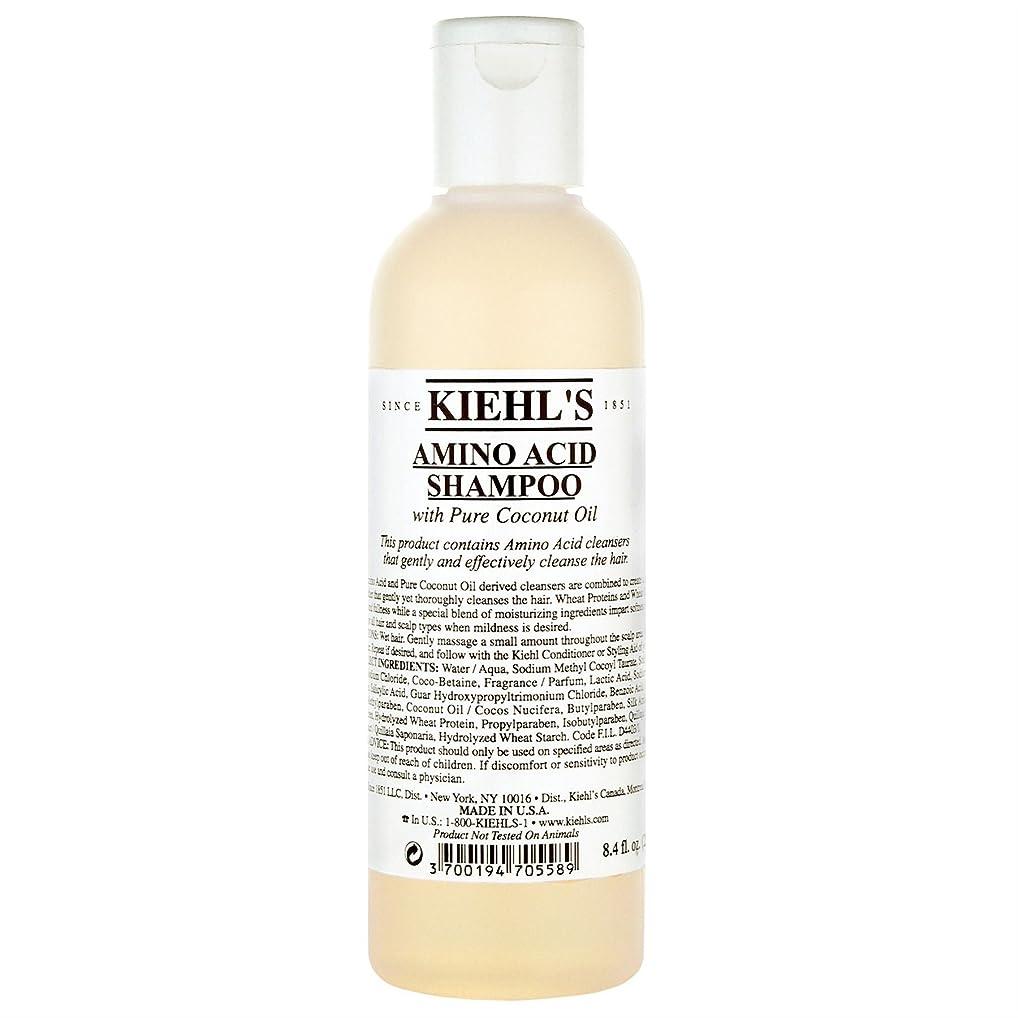 哲学者一緒ハンディ[Kiehl's ] キールズアミノ酸シャンプー500ミリリットル - Kiehl's Amino Acid Shampoo 500ml [並行輸入品]