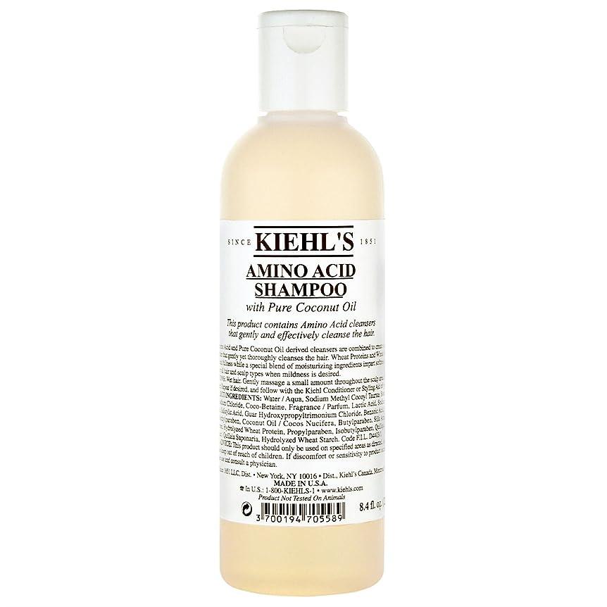 落胆させるできない引退する[Kiehl's ] キールズアミノ酸シャンプー500ミリリットル - Kiehl's Amino Acid Shampoo 500ml [並行輸入品]