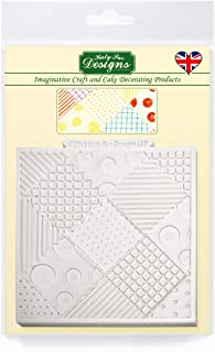 Katy Sue Patchwork Quilt Silicone Design Mat for Cake Decorating, Cupcakes, Sugarcraft and Candies, Food Safe