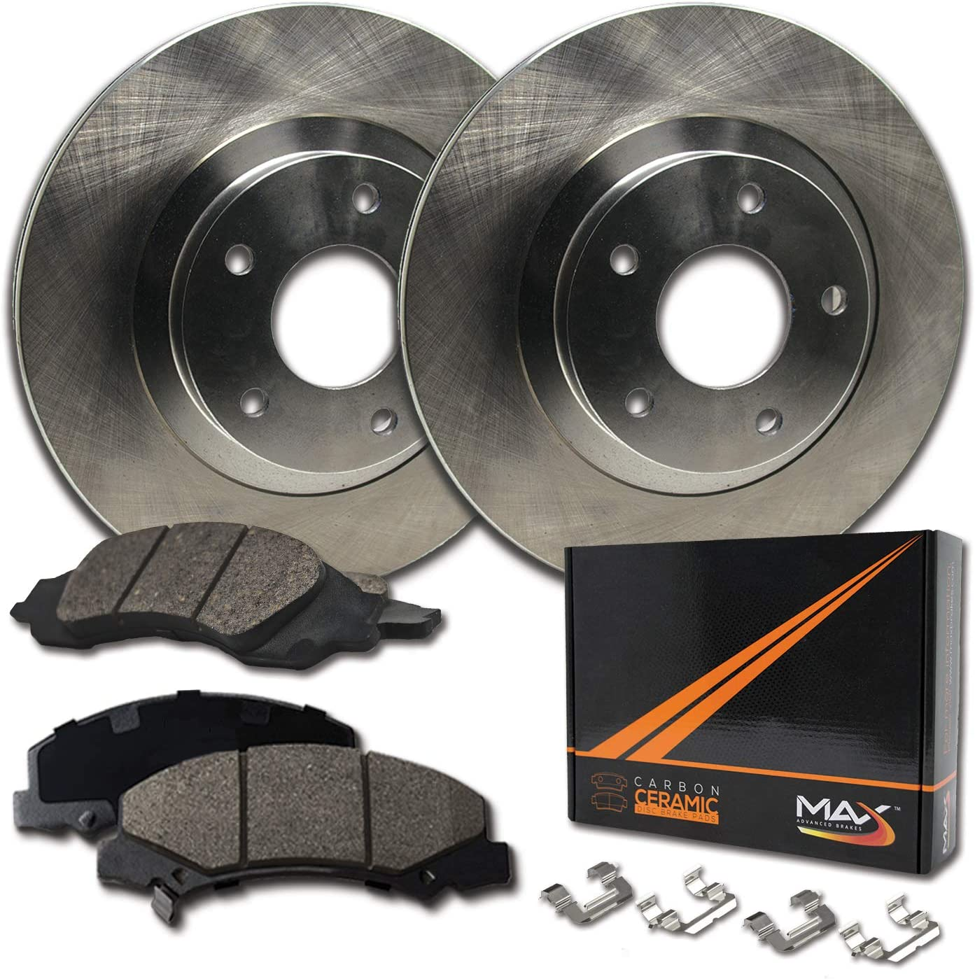 Front Max Brakes Premium OE Rotors Pads Carbon an Popular products with Excellence Ceramic