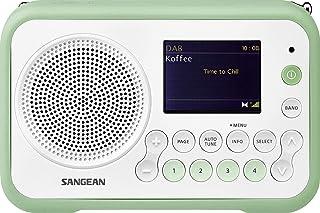 Sangean DPR-76 White/Smoke Green