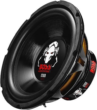 "BOSS Audio pd12led 16W, 12Inch, Dual 4Ohm Bobina de Voz subwoofer para Coche, P10SVC, 10"" 1200 Watts, Value Not Found"