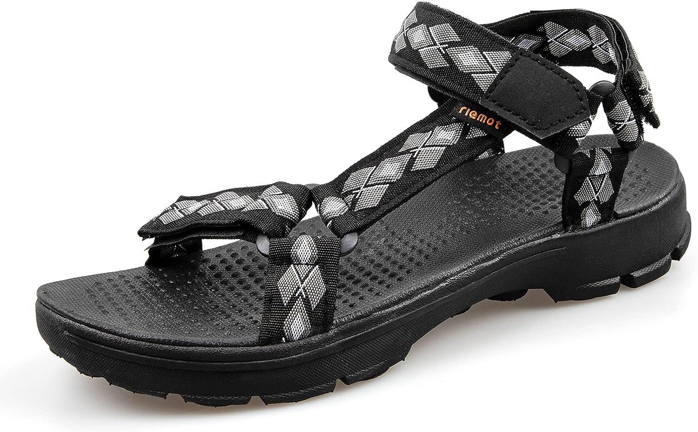 riemot Men's Women's Hiking Sandals Open Toe Sport Sandals, Adju