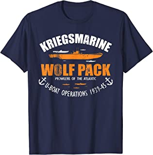 WW2 U-boat - Kriegsmarine Wolf Pack (distressed)