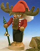 SIGNED Steinbach Chubby Reindeer German Christmas Nutcracker Made in Germany