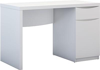 Bush Furniture Montrese Small Computer Desk in Pure White