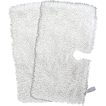 4 Pack ITidyHome 4-Pack Washable Steam Mop Pads Household Microfiber Replacement Cleaning Pads for Shark Steam Pocket Mops S3500 Series S3550 S3901 S3601 S3501