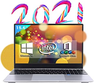 2021モデル テレワーク応援【Microsoft Office 搭載】【Win 10搭載】バックライト付き日本語キーボードフィルム付き インテルCeleron J4115 1.6GHz/メモリー:8GB/高速SSD/IPS広視野角15.6型液...