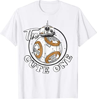 BB-8 The Cute One Graphic T-Shirt Z1