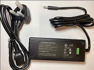Vervanging voor 48V 1.25A 60W GlobTek voeding GTM96600-6048-R2 UK PLUG