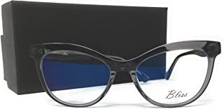 Bliss Eyewear Comp. Blue Light Blocking Glasses for Anti Eyestrain and Migraine Reduction (for use with Computer, Gaming, TV, Tablet, and Phone)