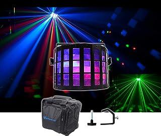 Chauvet DJ Mini Kinta IRC DMX RGBW Derby Club Stage Effect Beam Light+Bag+Clamp