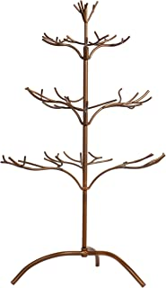 Red Co. Ornament Tree Christmas Décor Jewelry and Accessory Display in Copper Finish - 25