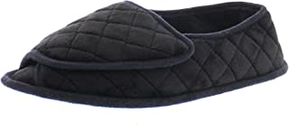 velcro open toe slippers for elderly