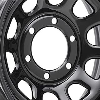 Pro Comp Steel Wheels Series 51 Wheel with Gloss Black Finish (16x8