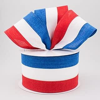 Best burlap ribbon red stripe Reviews