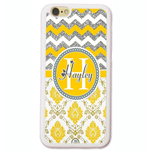 official photos f2389 9b99c Damask Monogrammed iPhone 6S Case: Amazon.com