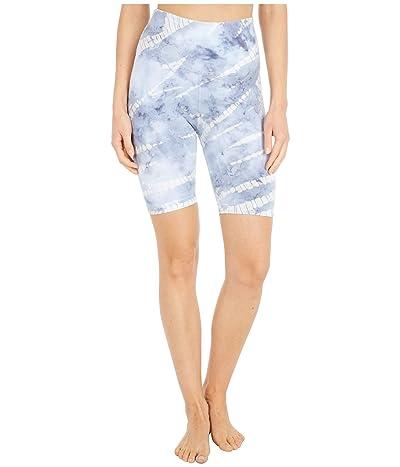 Hard Tail Flat Waist Bike Shorts (Storm Wash # 2) Women